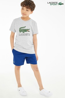 Lacoste® Sport Blue Polyester Short