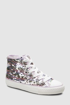 7c044f237 Girls High Top Trainers