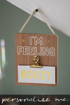 Personalised Hanging Sign