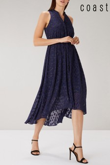 Coast Blue Aspen Spot Dress