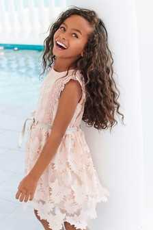 فستان دانتيل (3-16 سنة)