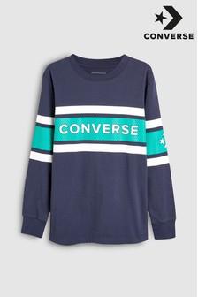 Converse ストライプ 長袖 シャツ