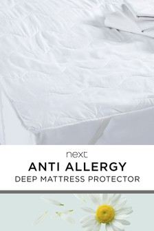 Anti Allergy Deep Mattress Protector