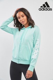 adidas Mint Linear Zip Through Hoody