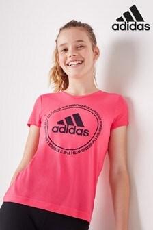 adidas Pink Prime T-Shirt