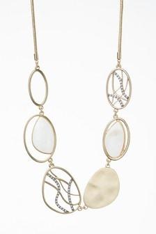 Sparkle Detail Short Necklace