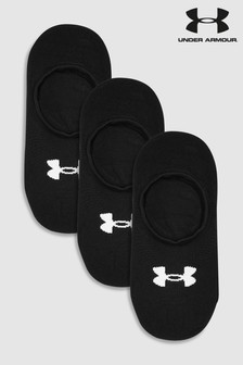 Under Armour Black Ultra Low Socks Three Pack