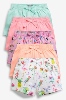 Carnival Shorts Five Pack (3mths-7yrs)