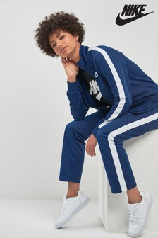 Nike Blue Polyknit Tracksuit