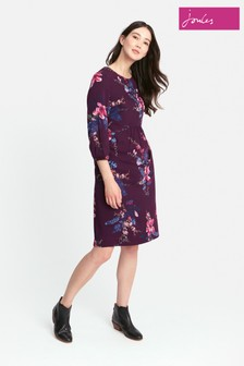 Joules Plum Floral Alison Dress