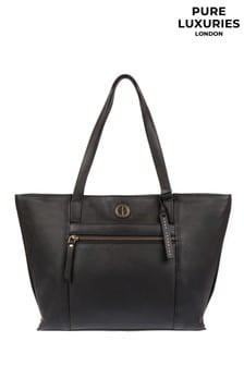Pure Luxuries London Skye Leather Tote Bag