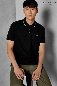 Ted Baker Black Short Sleeve Polo