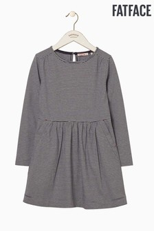 FatFace Fine Stripe Jersey Dress