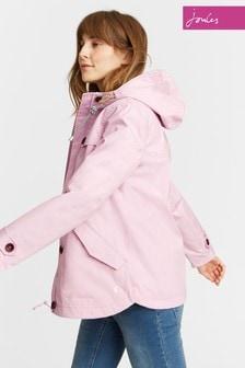 Joules Soft Lilac Waterproof Hooded Coast Jacket