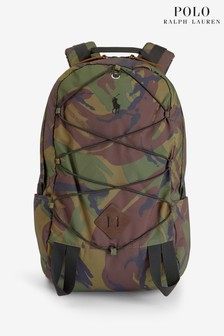 Polo Ralph Lauren Camo Logo Nylon Backpack