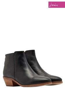 Joules Black Langham Boot