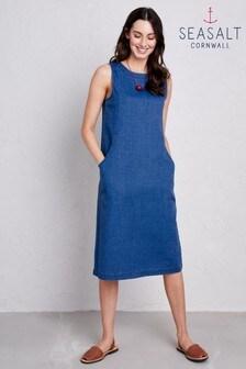 Seasalt Blue Godrevy Sunset Dress