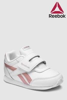Reebok White/Pink Royal