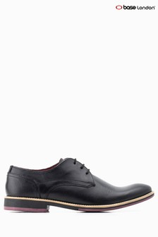 Base London® Black Ridley Lace Up Shoe