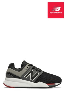 New Balance Black 247 Younger Trainer