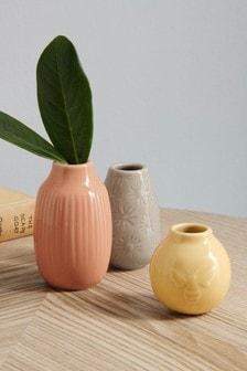Set of 3 Mini Vases