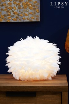 Lipsy Feather Table Lamp