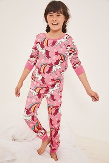 Christmas Unicorn Snuggle Pyjamas (3-16yrs)