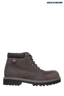 Skechers® Charcoal Sergeants Verdict Boot