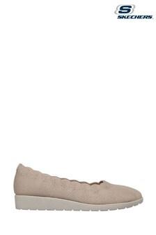 Skechers Natural D'Lux Walker Pillow Heaven Shoes