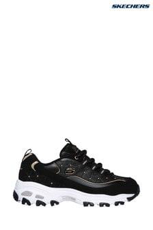 Черные кроссовки Skechers® D'Lites Glamour Feels