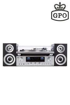 GPO PR100 & 200 Turntable, CD/Amplifier And Speakers