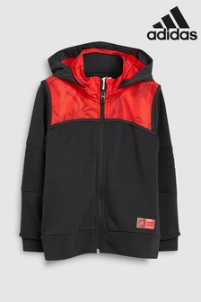 adidas Little Kids Spiderman Zip Through Hoody