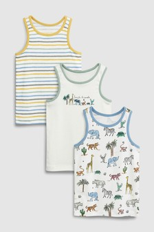 Animal Vests Three Pack (1.5-8yrs)