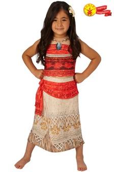 Rubies Deluxe Moana Fancy Dress Costume