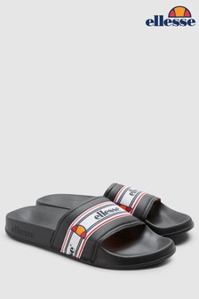 Ellesse™ Black Filippo Sliders