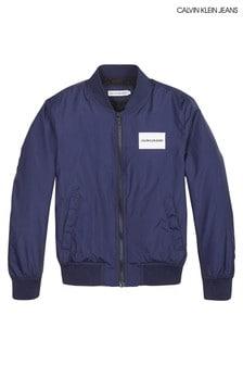 Calvin Klein Jeans Boys Spring Bomber Jacket