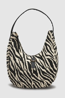 Casual Buckle Hobo Bag