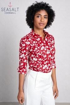 חולצתLarissa Torn Campion Fireglow של Seasalt