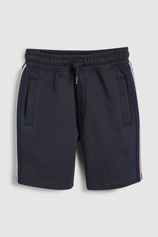 מכנסיים קצרים עם אמרה בצדדים (גילאי 3 עד 16)