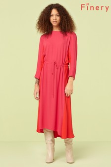 Finery London Pink Ava Dress