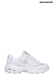 Skechers® White D'Lites Glamour Feels Trainer