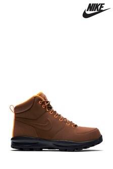 Rjavi visoki čevlji Nike Monoa