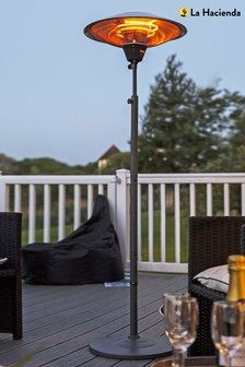 Freestanding Electric Outdoor Heater by La Hacienda