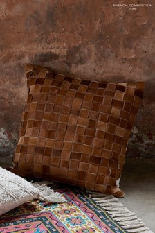 French Connection Basket Weave Cushion