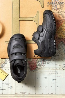 Geox New Savage Boy Black Trainer