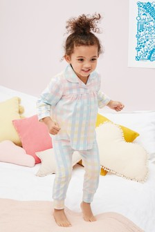 Jersey Gingham Pyjamas (9mths-8yrs)