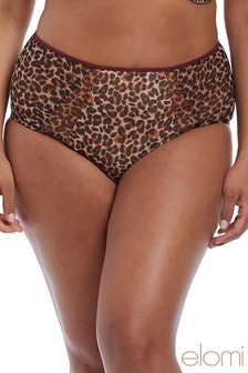 Elomi Sachi Leopard High Waist Brief