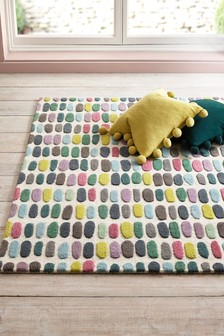 Multicoloured Sketch Rug