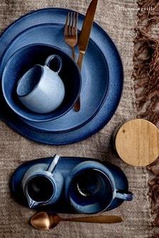 Bloomingville Blue Sandrine Stoneware Plate