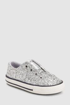 נעלי ספורט מנצנצות ללא שרוכים (צעירים)